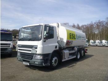 D.A.F. CF 75.250 6x2 fuel tank 19 m3 / 4 comp RHD - cisterna camión