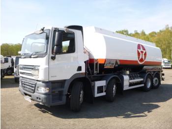 D.A.F. CF 85.360 8x2 RHD fuel tank 25 m3 / 6 comp - cisterna camión