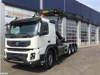 Volvo FMX 450 8x4 Palfinger 33 ton/meter laadkraan - multibasculante camión
