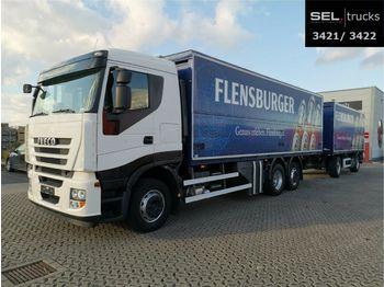 Iveco Stralis /LBW./Komplett!!/Lift-Lenk/Rückfahrkam.  - transporte de bebidas camión