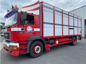 MAN 19 FL 4x2, Dobble Stock, Waage, TUV: 10-2020, Wasser Tank, TOP Zusatnd !!! - transporte de ganado camión