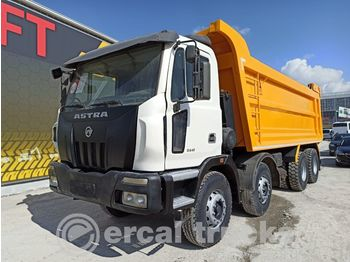 ASTRA 2011 84.41 AC 8X4 EURO5 HARDOX TIPPER - volquete camión
