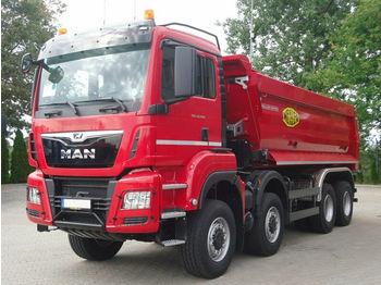Volquete camión MAN TGS 41.460 8x8 EURO6 Muldenkipper TOP! NEU!