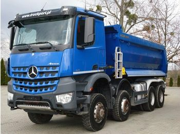 Volquete camión Mercedes-Benz AROCS 4145 8x6 EURO6 Muldenkipper TOP!