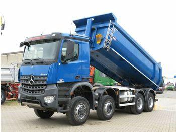 Mercedes-Benz Arocs 4142 8x6 4 Achs Muldenkipper Grounder  - volquete camión