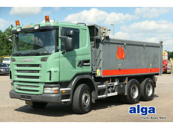 Scania G480CB6x4, Mulde 17m³, Plane, 16-Schalter,Euro 4  - volquete camión