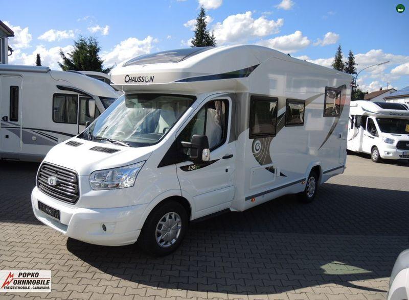 la meilleure attitude ca6df 30f28 Camper van Chausson Flash 628 EB Spezial Edition-18 -4 Sitze (Ford Transit)  - Truck1 ID: 3035629