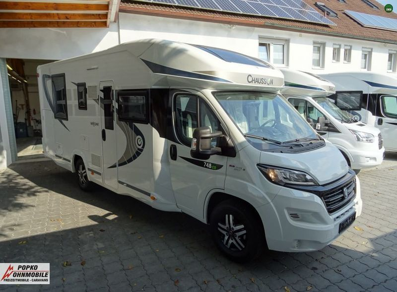 meilleure sélection 40f11 4be00 Camper van Chausson Welcome 748 EB Mit Hubbett (FIAT Ducato) - Truck1 ID:  3150787