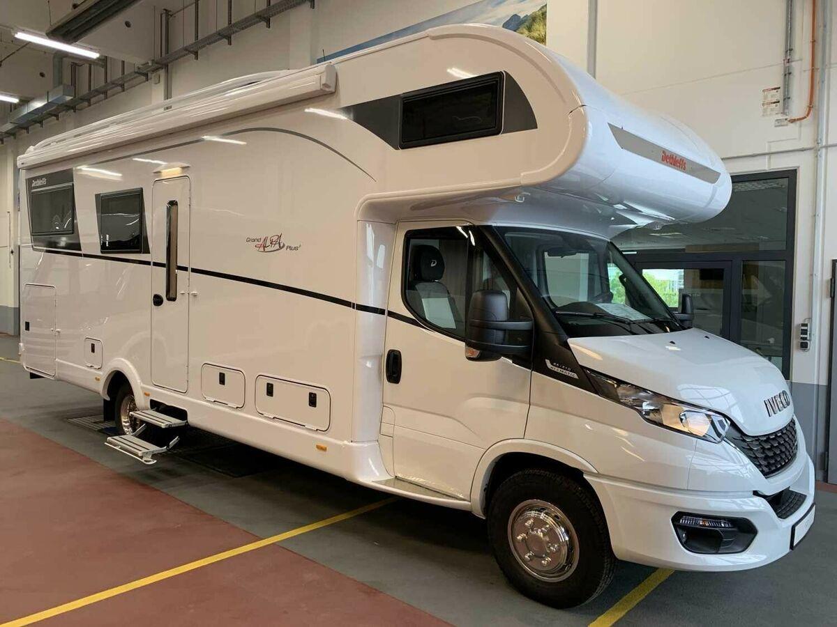 Camper van Dethleffs Alpa A 9-9 Rundsitzgruppe und viel Zuladung! -  Truck9 ID: 9