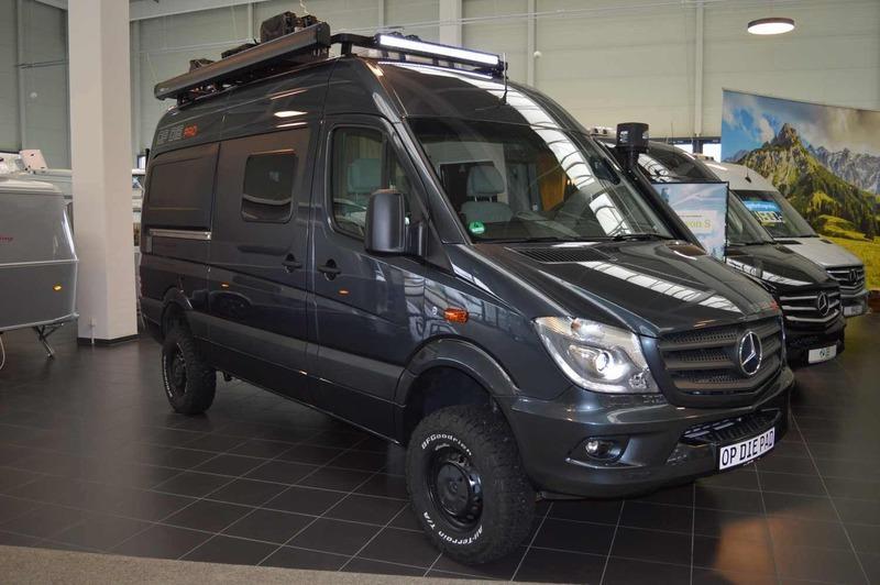 4 Wheel Drive Vans >> New HYMER / ERIBA / HYMERCAR Grand Canyon S Oberaigner 4x4 Offroadfahrzeug camper van for sale ...