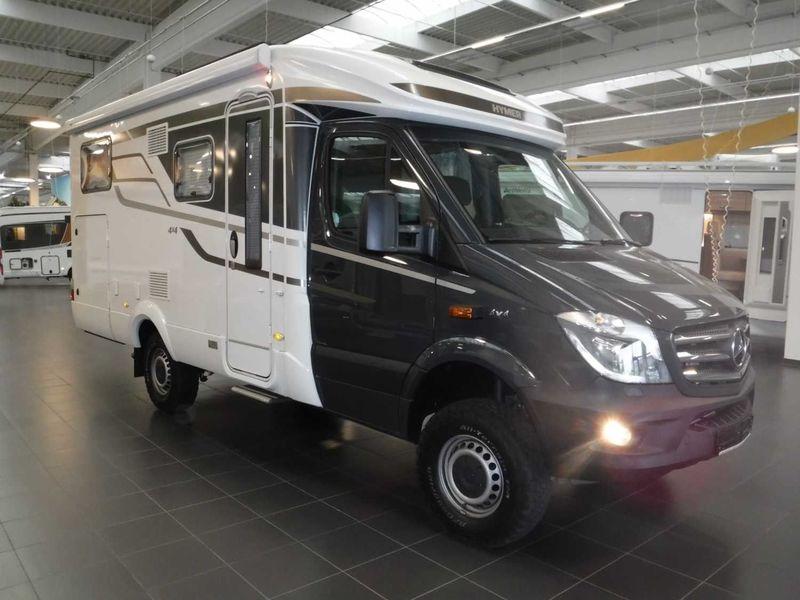 Camper van HYMER / ERIBA / HYMERCAR ML-T 560  Markise/SAT/TV/NAVI/RFK/ALDE/GFK/4x4 - Truck1 ID: 3308324