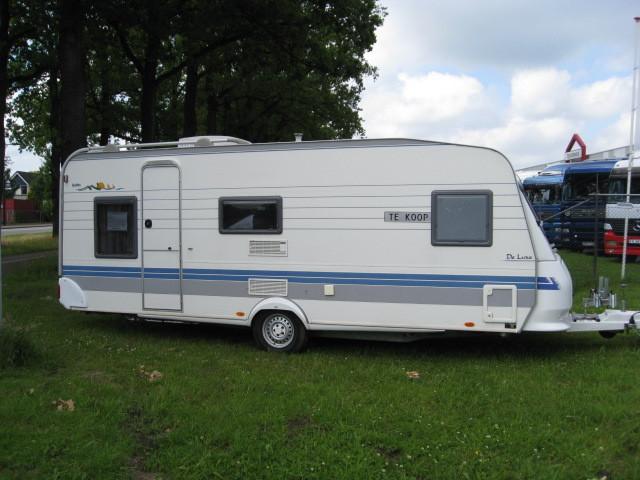 Hobby 560 KMFE DE LUXE camper van from Netherlands for