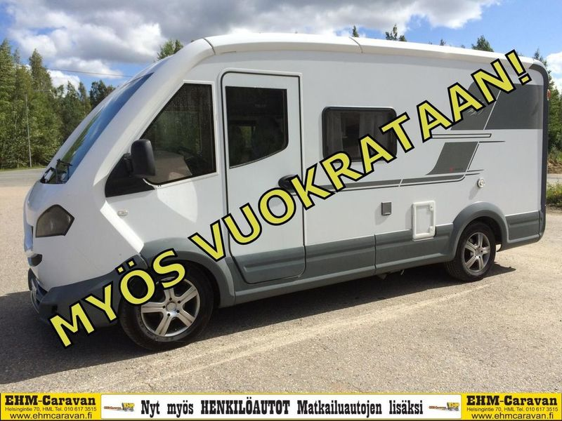 Knaus 550 Mg V Liner Camper Van From Finland For Sale At Truck1 Id 3537364