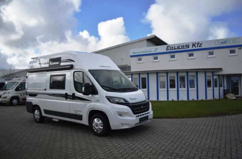 new karmann dexter 550 camper van for sale from germany at. Black Bedroom Furniture Sets. Home Design Ideas