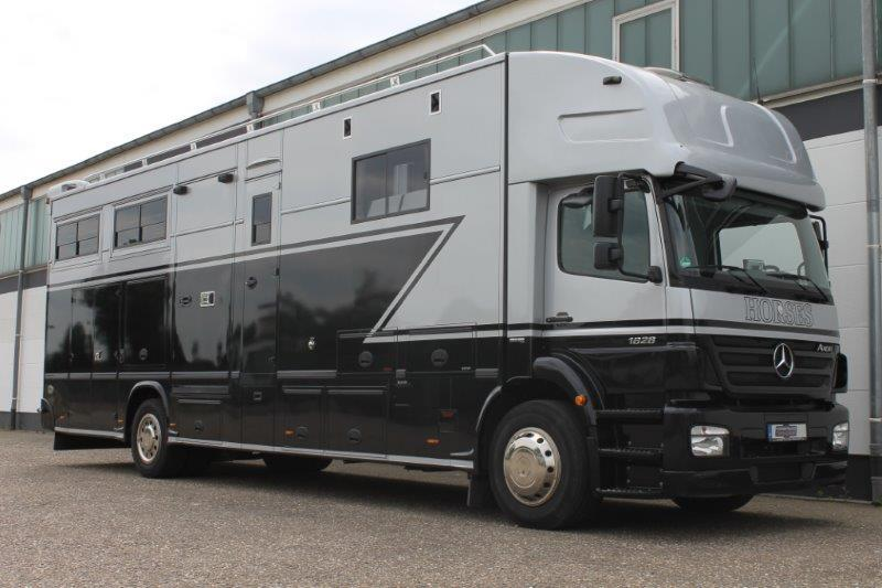 Camper Van MERCEDES BENZ AXOR 1824 JK POP OUT