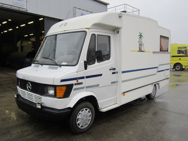 mercedes benz 307 d camper van from belgium for sale at
