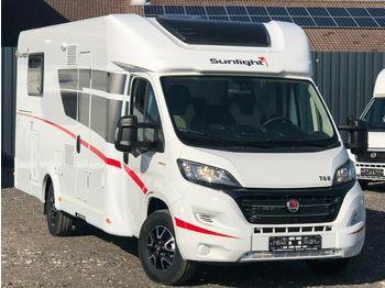 شاحنة التخييم Sunlight T68, Solar, Markiese ec.