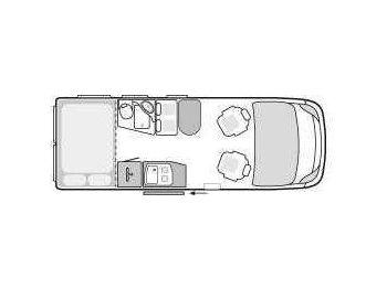 weinsberg carabus 601 mq camper van from germany for sale. Black Bedroom Furniture Sets. Home Design Ideas