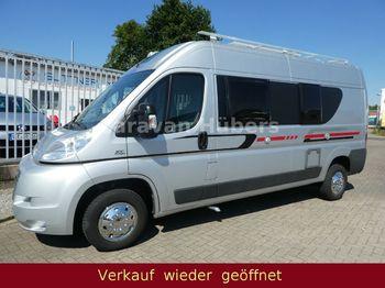 Adria Twin - Klima - Solar - Festbett - AHK  - husbil