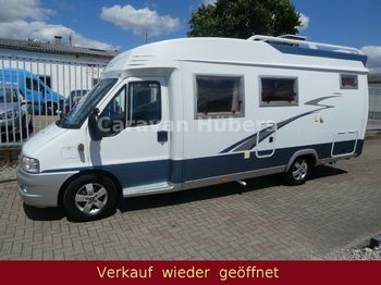 Hobby 650 GSE - Festbett - Klima - Sat/TV - AHK  - husbil