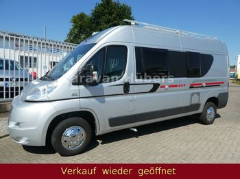 Adria Twin - Klima - Solar - Festbett - AHK  - kampeerwagen