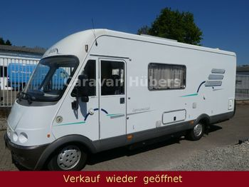 HYMER / ERIBA / HYMERCAR B 654 - auto.Sat/TV-Solar - Grüne Umweltplakette  - kampeerwagen