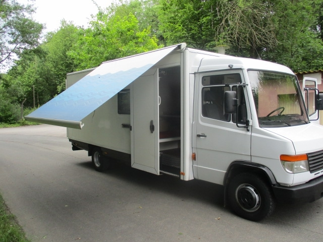 d5472021ac MERCEDES-BENZ VARIO 815 Wohnmobil 814-815 camper from Germany for ...