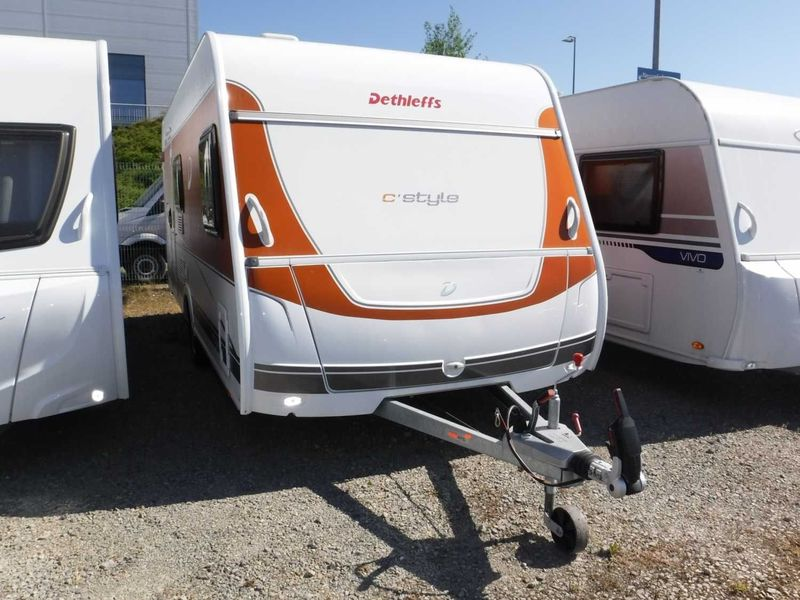 Travel trailer Dethleffs c-trend 505 FSK Touring&Styling Paket/ATC - Truck1  ID: 3096901
