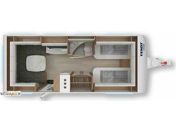 Travel trailer Fendt Opal 550 SG