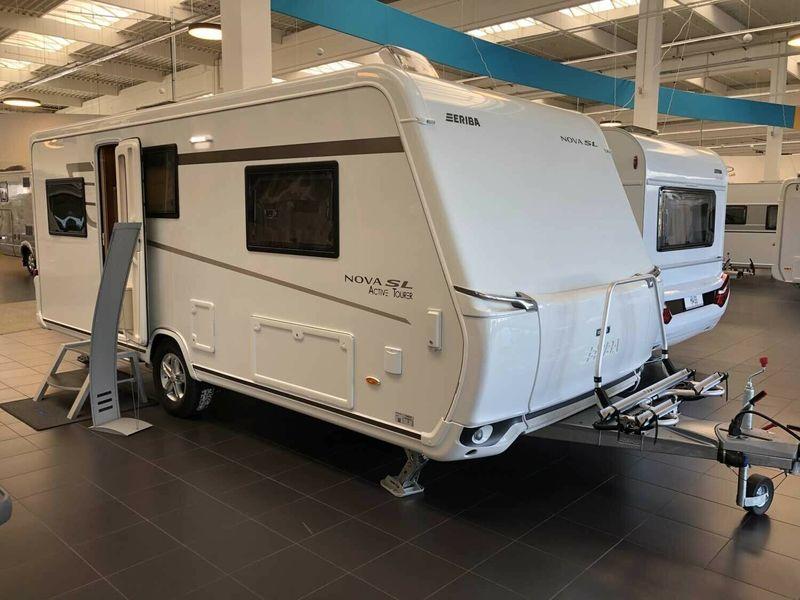 Travel trailer HYMER / ERIBA / HYMERCAR Eriba Nova SL 540 Mover XT,  Autarkpaket, ATC - Truck1 ID: 3474994