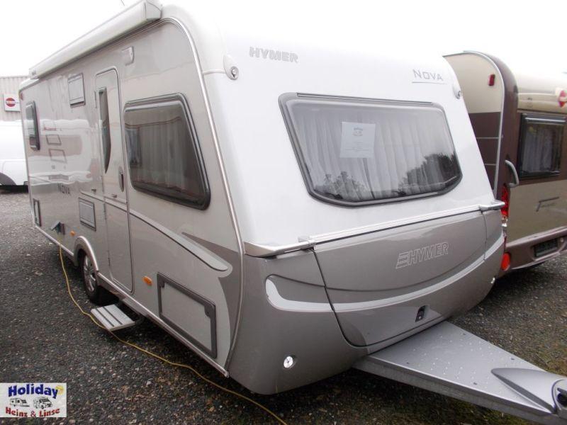 Travel trailer HYMER / ERIBA Nova 545 Autark,Solar,Mover,TecTower - Truck1  ID: 2142751