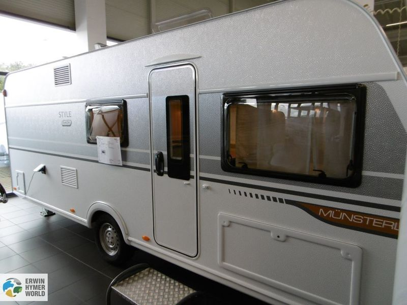 New LMC Style 540 K 540K travel trailer for sale from Germany at