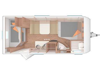 Weinsberg CaraOne 500 FDK  - travel trailer