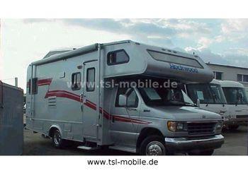 TSL Landsberg/ Rockwood Frontier 1244, Dachklima, Anhängerkupplung  - autocaravana