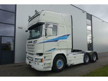 Scania R730 6X4 RETARDER EURO 6 FULL OPTIONS!!  - cap tractor