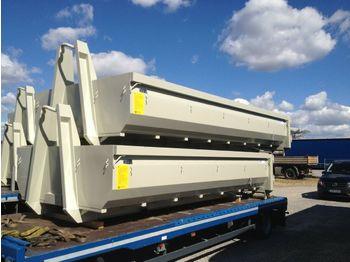 Carrocería intercambiable/ contenedor Abrollcontainer 6m/11kmb Klappe o. Hecktüre