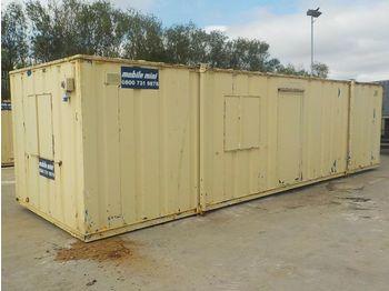 32'x10`Containerised Office Block - conteneur comme habitat