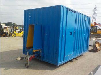 Single Axle Welfare Unit - conteneur comme habitat