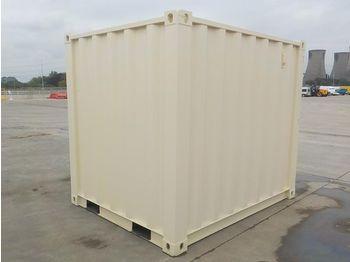 Unused 8' Container, Side Door, Window - conteneur comme habitat