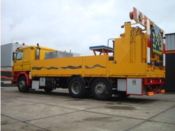 Asfalta ieklāšanas tehnika SCANIA 380 6x2 Thermoplastic Pre Melt Truck