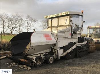 Demag DF115P - asfalta klājējs