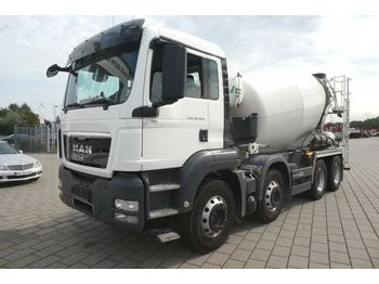 MAN TG-S 32.400 8x4 BB Betonmischer Stetter 9FHC  40  - betona maisītājs