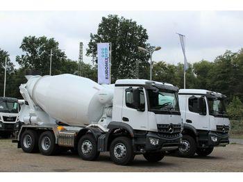 Mercedes-Benz 3542 8x4 / EuromixMTP EM 10 R Euro 3  - betona maisītājs