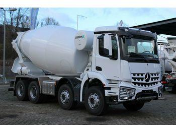 Mercedes-Benz 4142 8x4 / Euro 3 EuromixMTP  EM 10m R  - betona maisītājs