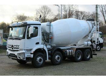 Mercedes-Benz 4142 8x4 / Euro 3  EuromixMTP  EM 12m R  - betona maisītājs