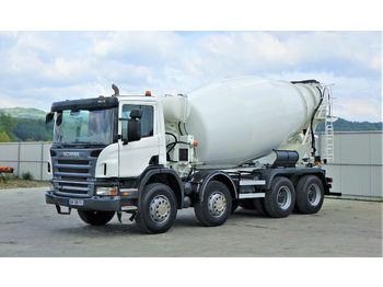 Betona maisītājs Scania P 380 Betonmischer * 8x4 * Topzustand!