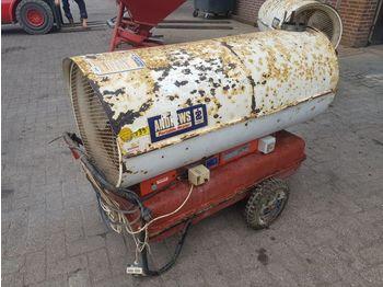 PORTABLE heater - celtniecības sildītājs
