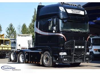 Ciągnik siodłowy DAF XF 105 - 510, 442000 km!, Showtruck, Retarder, Super Space Cab SSC, 6x2 Boogie, Truckcenter apeldoorn, Euro 5