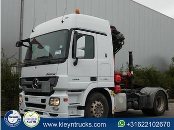 Ciągnik siodłowy Mercedes-Benz ACTROS 1844 LS palfinger pk18500 ,a