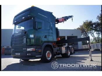 Ciągnik siodłowy Scania 164-480